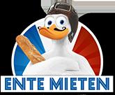 Datenschutzrichtlinie Logo Ente mieten Citroën 2CV